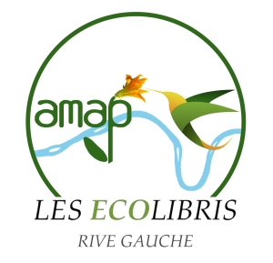 logo amap verneuil sur seine - créée par Les Ecolibris - Rive Gauche